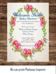 welcome home baby shower 133 best invitations images on