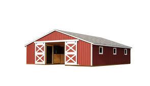 30x36 low profile horse barn horse barns pinterest horse