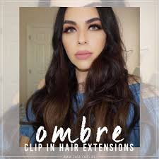 ombre clip in hair extensions ombre clip in hair extensions zala hair extensions