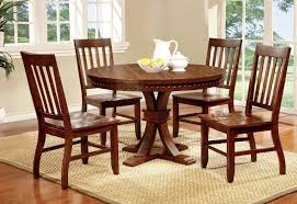 buy furniture of america cmrtset foster i round dining room