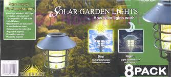 Alpan Solar Lights - 로고스 로즈마트 미국 alpan 태양열 솔라 라이트 8개 세트 정원등