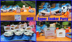 birthday decoration ideas at home for boy summer birthday party ideas nerf super soaker boy birthday