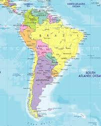 map us south maps south america