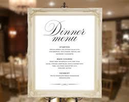 brunch wedding menu wedding menu sign wedding menu poster wedding menu board