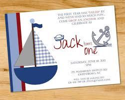 nautical birthday invites images invitation design ideas