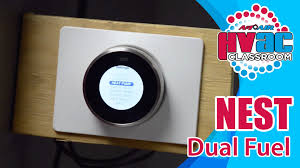 nest thermostat how to setup a nest thermostat for dual fuel