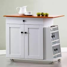 Folding Kitchen Island Cart Portable Kitchen Islands In 11 Clean White Design Rilane