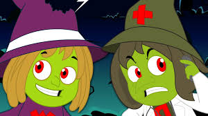 five wicked witches nursery rhymes for children kids songs and