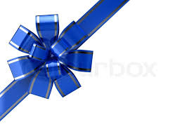 white blue ribbon blue ribbon white background 3d stock photo colourbox