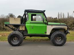 land rover back land rover defender 90 tray back challenge truck stunning