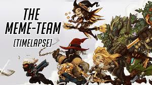 Meme Team - artstation the meme team sayael nu