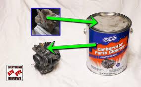 best carburetor cleaner for extremley gummed up carbs how to use