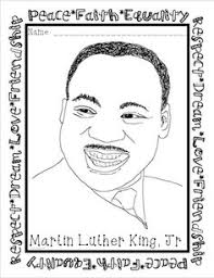 free printable martin luther king coloring pages martin luther king jr coloring pages fashion pinterest peace