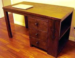 Small Solid Wood Desk Solid Wood Computer Desk Solid Wood Desk Computer Table Live Edge