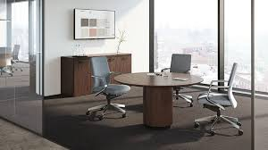 Designer Boardroom Tables Contemporary Boardroom Table Wooden Laminate Round Meeting
