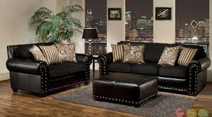 Black Leather Living Room Furniture Sets Black And White Living Room Ideas Pictures Cheap Sets 500