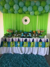 Monster Inc Decorations πάνω από 25 κορυφαίες ιδέες για Monster Inc Party στο Pinterest