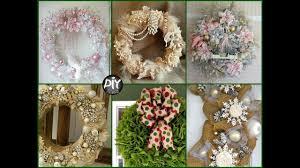 30 diy shabby chic christmas wreath ideas cute christmas