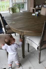 restoration hardware dining table converts small circle table