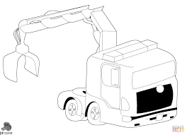 coloring pages trucks free printable monster truck coloring pages