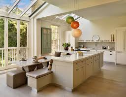 maximizing the narrow kitchen with neutral kitchen ideas cream