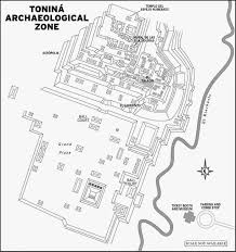 Teotihuacan Map Pre Hispanic City Of Teotihuacan And Pyramid Of The Sun By