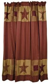 Country Themed Shower Curtains Country Shower Curtains Appleseed Primitives Primitive And
