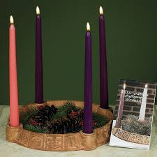 advent wreath candles anticipation advent wreath candleholder candles includ advent
