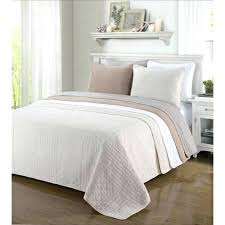 King Size Quilt Coverlet Grey Coverlet Cal King White Quilt Cal King California King Size