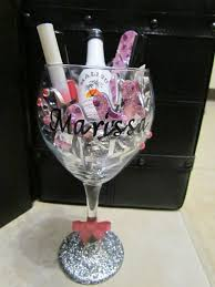wine glass gifts 1000 images about bachelorette wine glasses on wine