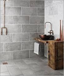 black pebble tile shower floor modern looks bathroom tiles walls