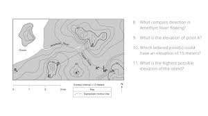 What Is A Topographic Map Regents Earth Science At Hommocks Middle Topographic Maps