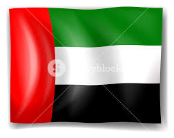 Hk Flag Illustration Of The Flag Of The United Arab Emirates On A White