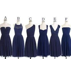 navy bridesmaid dresses mismatched bridesmaid dress bridesmaid dress chiffon
