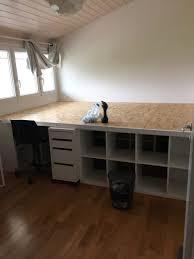 comment faire un bureau soi meme un incroyable lit estrade pour chambre d ado bidouilles ikea con