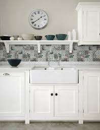 Tiles For Kitchen Backsplashes by Patchwork Backsplash For Country Style Kitchen Ideas Homestead