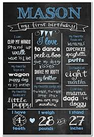 birthday chalkboard 1st birthday chalkboard