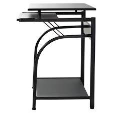 Black Computer Desk Comfort Products 50 1001 Stanton Computer Desk Walmart Com