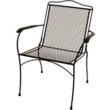 Patio Furniture Wrought Iron Dining Sets - arlington house wrought iron chair walmart com