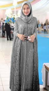 model baju muslim modern 46 model baju batik dress panjang muslim modern masa kini 2018