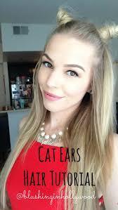 glamorous hair extensions cat ears hair tutorial ft girl get glamorous hair extensions