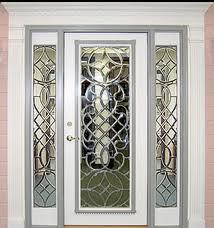 Glass Exterior Door Beveled Glass Entry Doors Exterior Beveled Glass Front Doors