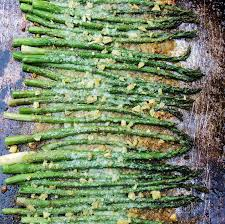 roasted asparagus with garlic and parmesan s kozy kitchen