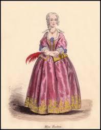 georgian fancy dress costume plates in victorian antique fashion