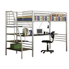 Kids Bunk Bed Desk Bunk Beds U0026 Loft Beds With Desks Wayfair