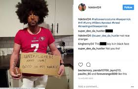 U0027s Wrong Halloween Costume Edition Colin Kaepernick Halloween Costumes Spur Controversy Alleged