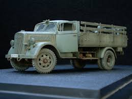 opel blitz maultier slightly altered scale models kfz 305 opel blitz