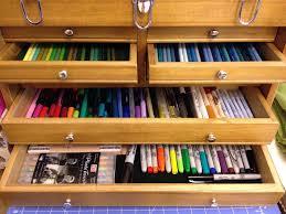 Craft Studio Ideas by My New Pencil Marker Pen Box Scrapbook Com Scrapbook And