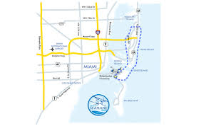 Map Of South Beach Miami by South Beach Tour Miami Seaplane Tours