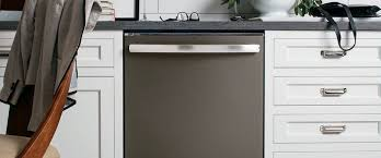 Kitchen Appliance Cabinets Gorgeous Smudge Proof Slate Appliances Ge Appliances